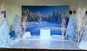 Themed Decorations Winter Themed And Frozen Theme Decorations And Production Services