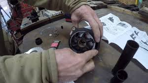 detailed evinrude water pump replacement youtube