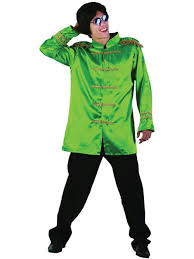 freddie mercury halloween costume 60s 70s sergeant pepper fancy dress sgt green jacket beatles pop