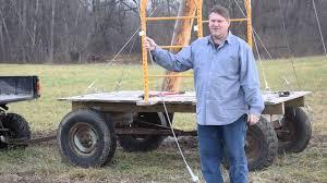 in line pole setup in hop yard schmidt farm youtube
