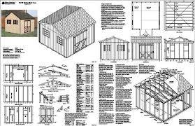 12 x 12 gable shed plans free pdf 4 x 8 slant roof shed