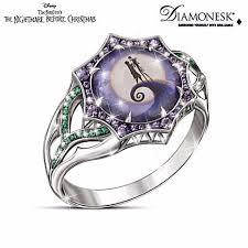 nightmare before christmas wedding rings disney engagement rings popsugar photo 15