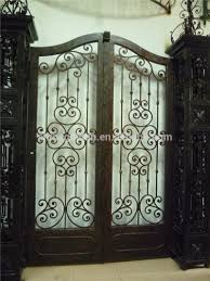 new latest house luxury wrought iron main gate designs gyd 15g1038