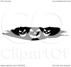 cute jack o lantern clipart clipart of a black and white grunge border of halloween