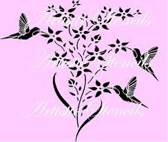 hummingbird stencil images reverse search