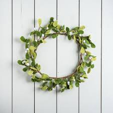 Mistletoe Decoration Felt Mistletoe Wreath Magnolia Market Chip U0026 Joanna Gaines