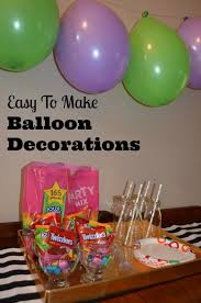 filled birthday balloon decoration ideas easy decorations