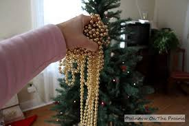 how to place garland on tree roselawnlutheran