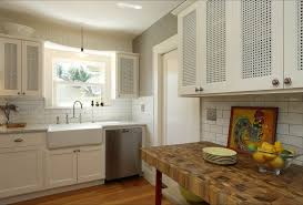 Backsplash Maple Cabinets Maple Cabinets White Backsplash Kitchen Farmhouse With Farmhouse