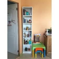 Narrow Bookcases Uk Bookshelf Amusing Ikea Narrow Bookcase Ashley Bookshelves Wall