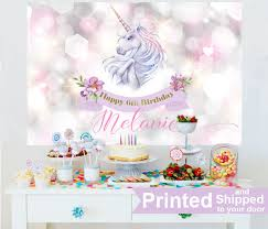 backdrop for baby shower table unicorn personalized backdrop baby shower cake table backdrop