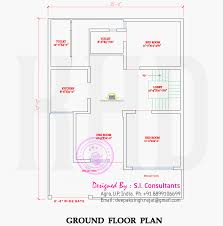 2117 square feet 4 bedroom modern north indian style house with