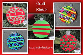 craft klatch diy duct ornaments how to