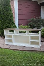 Apothecary Media Cabinet Diy Apothecary Console Plans By Ana White Handmade With Ashley