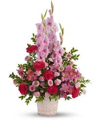 Traditional Flower Arrangement - non traditional funeral flowers