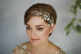 bridal hair for oval faces short hair wedding inspiration for brides of all styles and tastes
