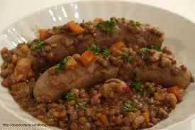 livre de cuisine gordon ramsay saucisses aux lentilles recette de gordon ramsay douce cuisine