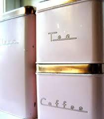 vintage canisters for kitchen vintage carlton jar set kitchen food storage pink canisters