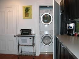 lave linge dans cuisine meuble pour machine a laver et seche linge 1 table rabattable