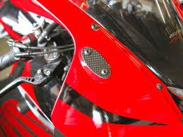 mirror block off plates caps real carbon fiber for honda