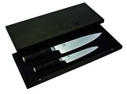 Shun Kitchen Knives by Premier Chef And Utility Knife Set