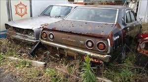 junkyard car youtube japan junkyard japanese scrap cars crx rx7 skyline ferrari ae86