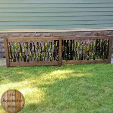 best 25 wine bottle fence ideas on pinterest wine bottle wall