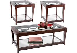 Westfield Ebony  Pc Table Set Table Sets Black - Living room table set