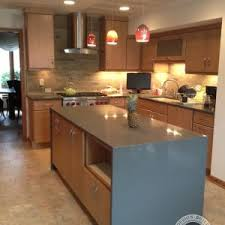kitchen decorating ideas for countertops decor waterfall countertop for your kitchen