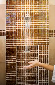 tile height in bathrooms ehow