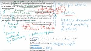 Answering The Essay Short Answer Exam Question Quality Writing by Ap Us History Short Answer Example 1 Video Khan Academy