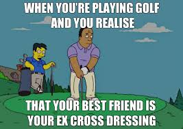 Best Friends Meme - golf meme 6 by blackeyei on deviantart