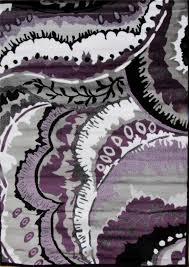 Purple Shag Area Rugs by Purple And White Area Rugs Roselawnlutheran