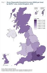 Hull England Map by Regional Gross Disposable Household Income Gdhi Office For