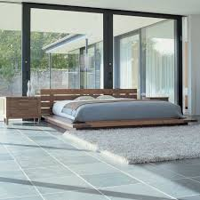 classic japanese bedroom in wooden design next bed love the idea