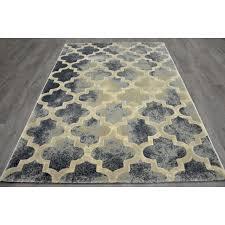 a199 aqua and cream trellis newbury rug 5 x 7 ft at home at home