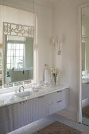 bathroom vanity under window design ideas