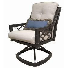 Home Decorators Dining Chairs Home Decorators Collection Richmond Hill Swivel Aluminum Outdoor