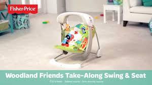 Argos Baby Swing Chair Woodland Friends Take Along Swing U0026 Seat Youtube