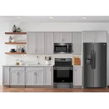 what color cabinets go well with black stainless steel appliances lacks frigidaire 3 pc black stainless steel kitchen package