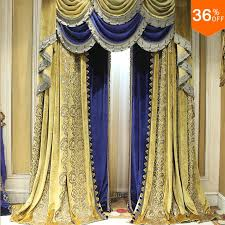 Yellow And Blue Curtains Yell Ancient Blue Yellow Curtains For Windows Pyramid Drapes