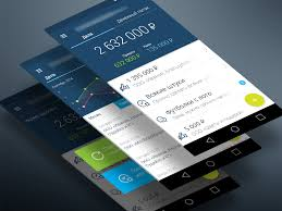 finance app for android android finance app material design uplabs