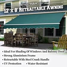 Hand Crank Retractable Awnings Coolest 18 Patio Awnings