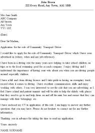 Taxi Driver Resume Cover Letter For Bus Driver Her A Letter Perfect Class A Bus
