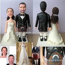 wedding cake toppers theme scottish custom theme cake toppers scottish
