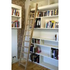 door sliding bookshelf ladder ikea billy bookcase hack stylish