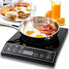 Electric Induction Cooktop Reviews Amazon Com Secura 9100mc 1800w Portable Induction Cooktop
