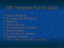Counseling Treatment Plans For Children Therapy Cbt Presentation Revised