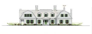 patrick ahearn architects gambrel cottage sketches u0026 plans
