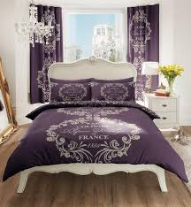 Plum Bedding And Curtain Sets Single Bedding Sets With Curtains Tokida For